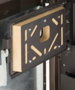 Vermikulit izolacija na vratima kotla